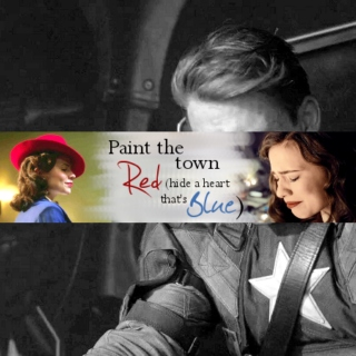 Paint the town red (hide a heart that's blue)