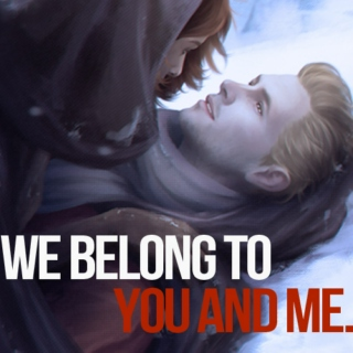 We belong to you and me.