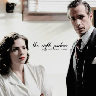 the right partner | [peggy/jarvis]