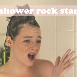 shower rock star