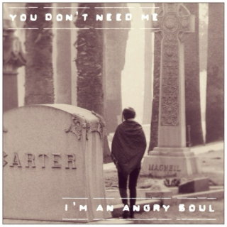 You don't need me, I'm an angry soul (Pt.1)