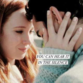you can hear it in the silence