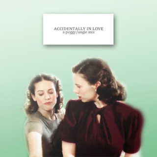 accidentally in love | a peggy/angie mix