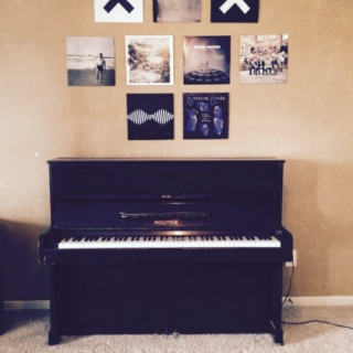 versions of songs on the piano