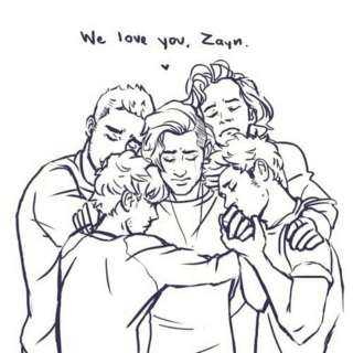 Always in our hearts, Zayn.