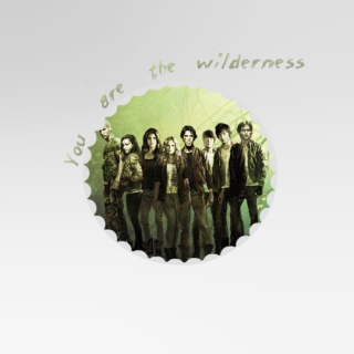 you are the wilderness.