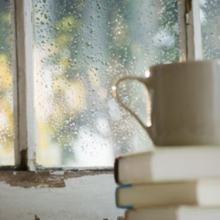Rainy Days, Books & Tea.