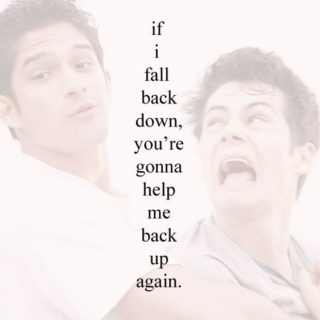 You're Gonna Help Me Back Up Again
