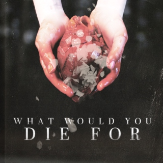 What Would You Die For? [Raleigh/Johann]