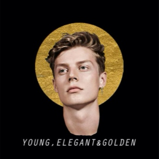 young, elegant & golden