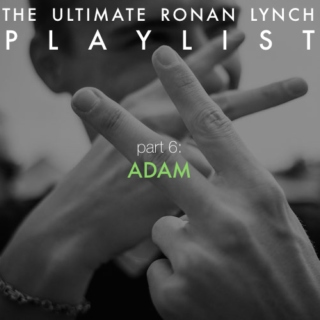 The Ultimate Ronan Lynch Playlist: part 6 (Adam)