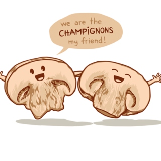 We are the champignons!