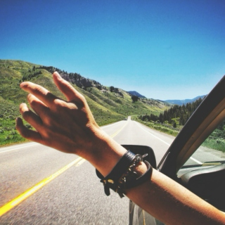 someday we'll drive away.