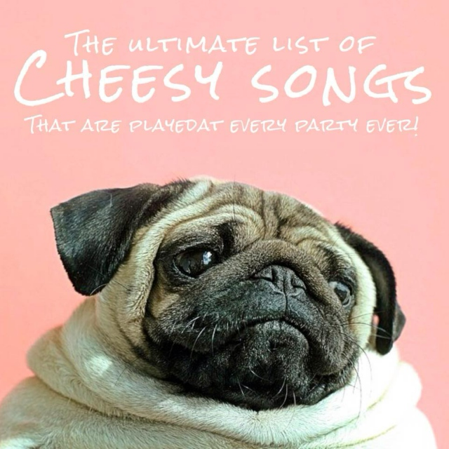 The Ultimate List Of CHEESY SONGS That Are
