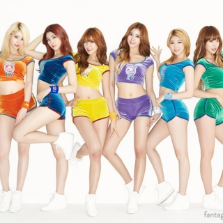 Girls of 2015 (January-March)