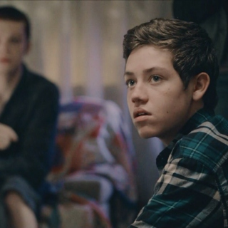 carl gallagher (sad)