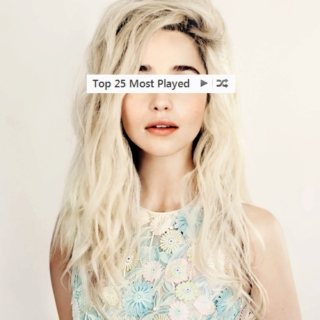 top 25 most played