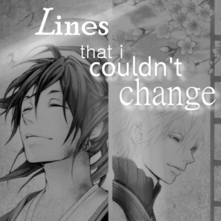 lines that I couldn't change