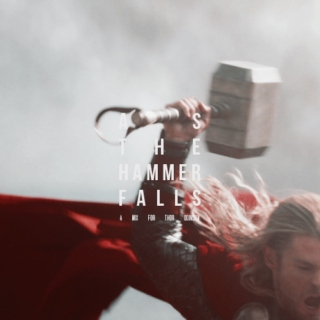 as the hammer falls