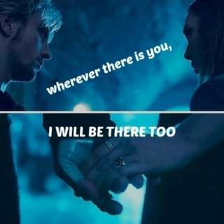 wherever there is you, I will be there too; (a pietro/wanda fanmix)