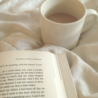 grab some coffee and a book