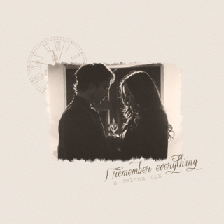 I Remember Everything - A Delena Mix