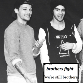 """brothers fight"""