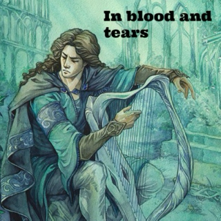 In blood and tears