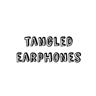 tangled earphones