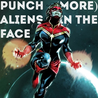 PUNCH (more) ALIENS IN THE FACE