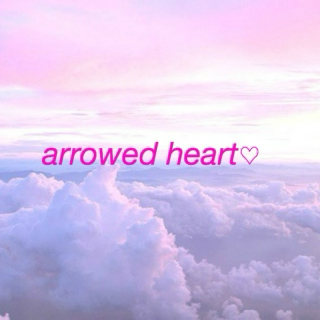 arrowed heart♡