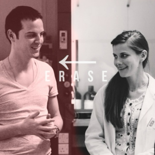 Erase {Jim Moriarty x Molly Hooper}