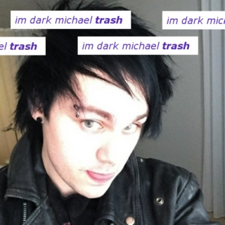 IM DARK MICHAEL TRA SH