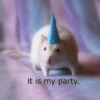 it is my party.