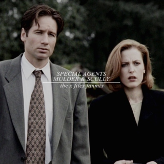 special agents Mulder & Scully