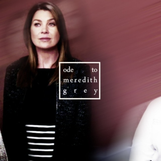 ode to meredith grey