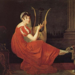 Playing the Lady Harp