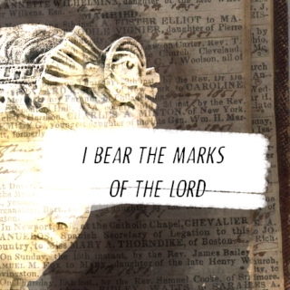 I BEAR THE MARKS OF THE LORD
