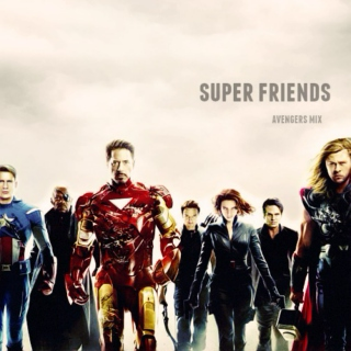 super friends {avengers mix}