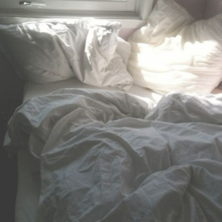 Laying in bed