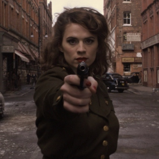 'i'm peggy carter'