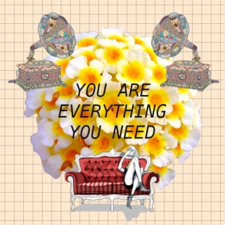 you are everything you need!