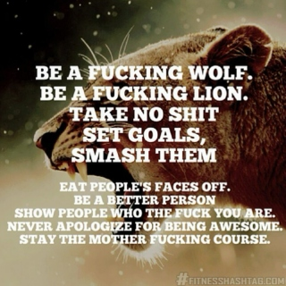 Be a F-cking Wolf