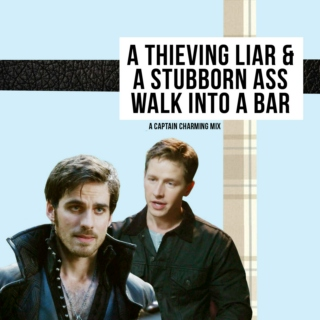 a thieving liar and a stubborn ass walk into a bar