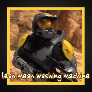 lean mean washing machine