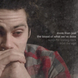 more than just the blood of what we've done