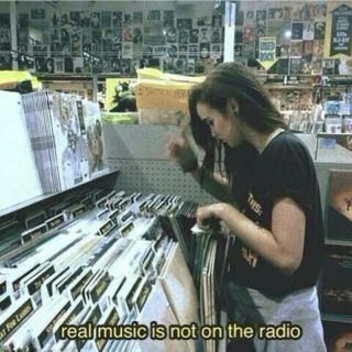 real music is not on the radio
