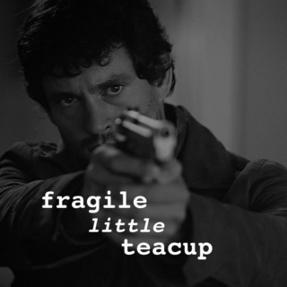 fragile little tea cup
