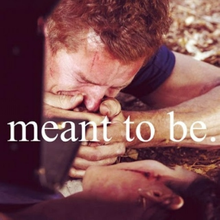 meant to be;