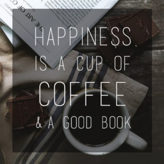 The Book Spell: Books and Coffee.